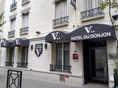 Hôtel Du Donjon - Hôtel - Vincennes