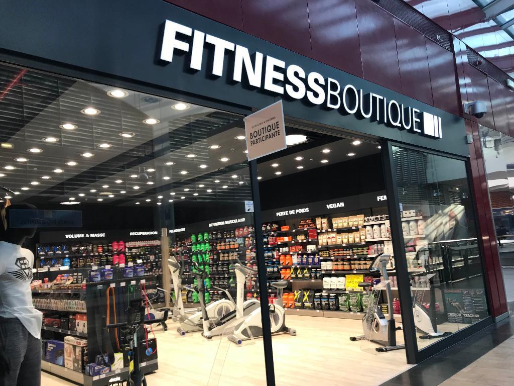Paris Charonne Magasin Fitness Boutique