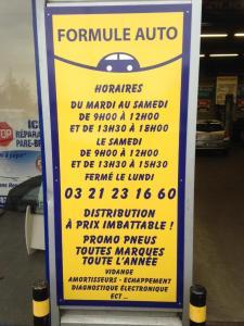 Formule Auto SARL - Garage automobile - Arras