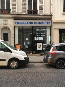 Friedland Conduite - Auto-école - Paris