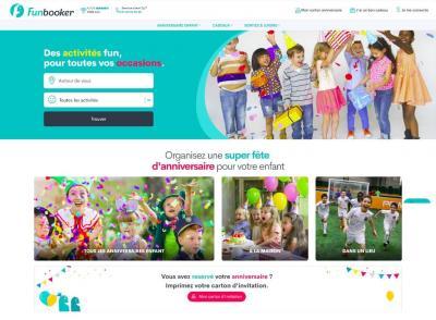 Funbooker.com - Création de sites internet et hébergement - Paris