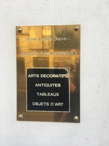Galerie Jean-louis Danant Sarl - Achat et vente d'antiquités - Paris