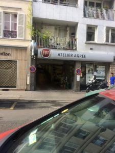 Fiat - Garage automobile - Paris