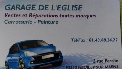 Garage de L Eglise - Garage automobile - Neuilly-sur-Marne
