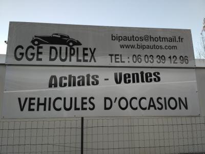 Garage Duplex - Automobiles d'occasion - Creil