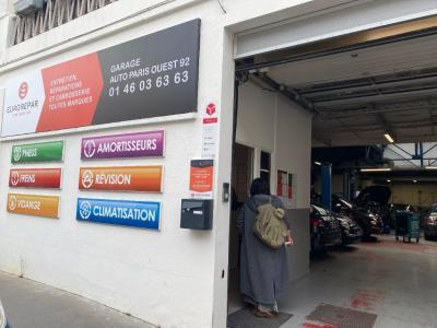 Garage Eurorepar Boulogne - Vente et réparation de pare-brises et toits ouvrants - Boulogne-Billancourt