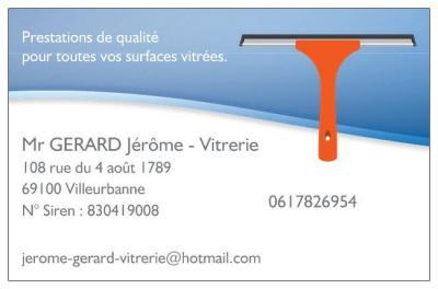 Gerard Jérôme Vitrerie - Entreprise de nettoyage - Villeurbanne