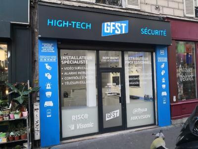 Gfst - Vente d'alarmes et systèmes de surveillance - Paris