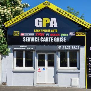GPA Gagny Pièces Autos - Pièces et accessoires automobiles - Gagny