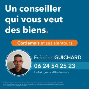 IAD France Guichard Frédéric Mandataire Indépedant - Mandataire immobilier - Cordemais