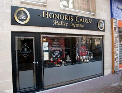 Honoris Causa Maitre Infuseur - Salon de thé - Arcachon