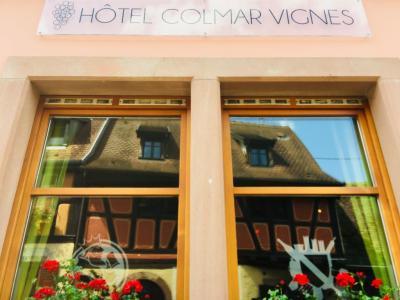 Hôtel Colmar Vignes - Restaurant - Eguisheim