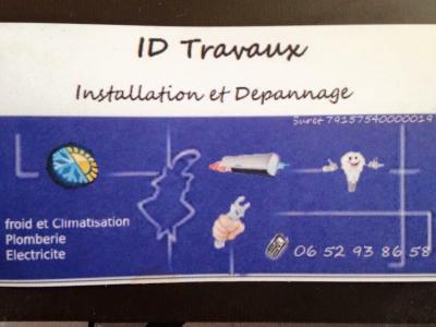ID Travaux - Vente et installation de climatisation - Hyères