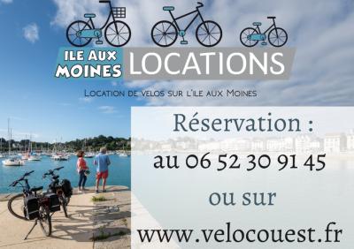 Ile Aux Moines Locations - Location de vélos - Île-aux-Moines