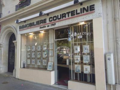 Immobilière Courteline - Agence immobilière - Paris