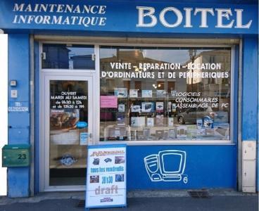 Informatique Boitel - Vente de matériel et consommables informatiques - Saint-Dizier