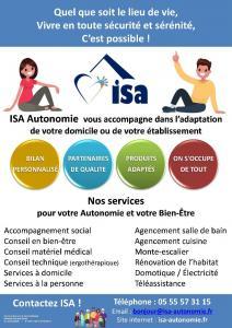 ISA Autonomie - Olivier Baudet - Services à la personne - Limoges