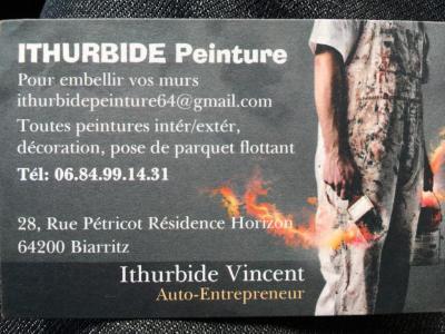 Ithurbide Vincent - Entreprise de peinture - Biarritz