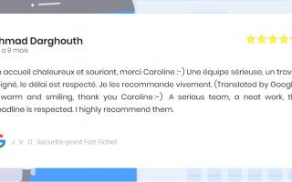 J . V . D . Securité-point Fort Fichet