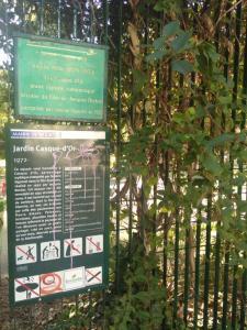 Jardin Casque d'Or - Parc, jardin à visiter - Paris