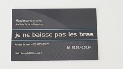 Je Ne Baisse Pas Les Bras - Services à domicile pour personnes dépendantes - Poitiers