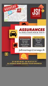 Jsf courtage - Société d'assurance - Bagneux