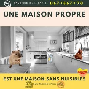 Sans Nuisibles - Dératisation, désinsectisation et désinfection - Paris