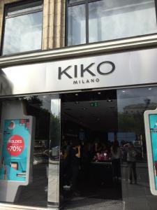 Kiko - Magasin de cosmétiques - Paris