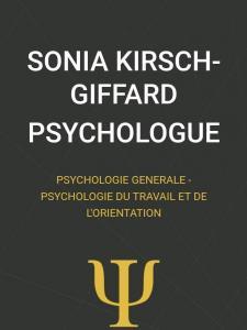 KIRSCH-GIFFARD Sonia - Psychologue - Quimper