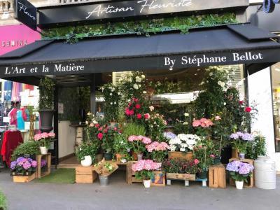 l'Art Et la Matiere Sb Fleurs - Fleuriste - Paris