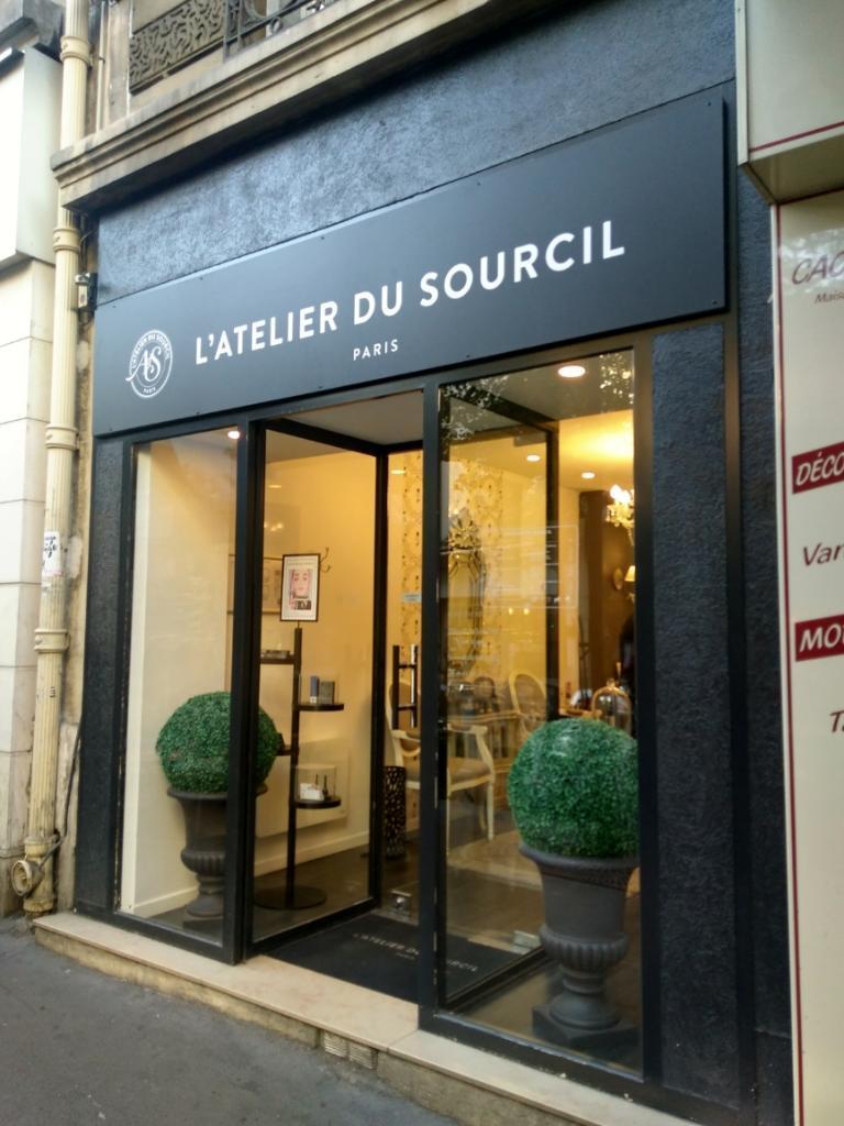 Latelier Du Sourcil 38 Av Secrétan 75019 Paris Institut