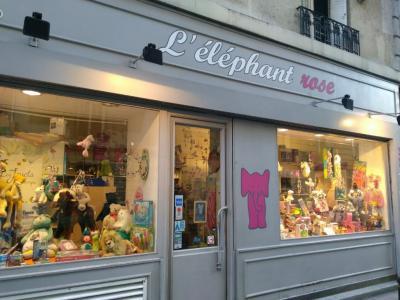 L'Elephant Rose - Jouets et jeux - Paris