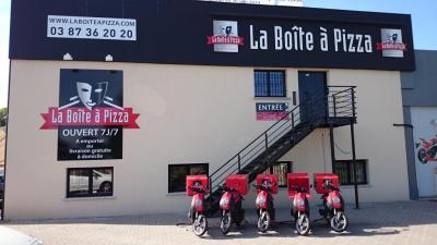 la Boite a Pizza - Restauration à domicile - Metz