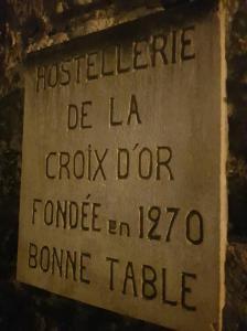 Hostellerie De La Croix D' - Restaurant - Provins