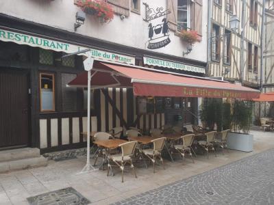 La Fille Du Potager - Restaurant - Troyes