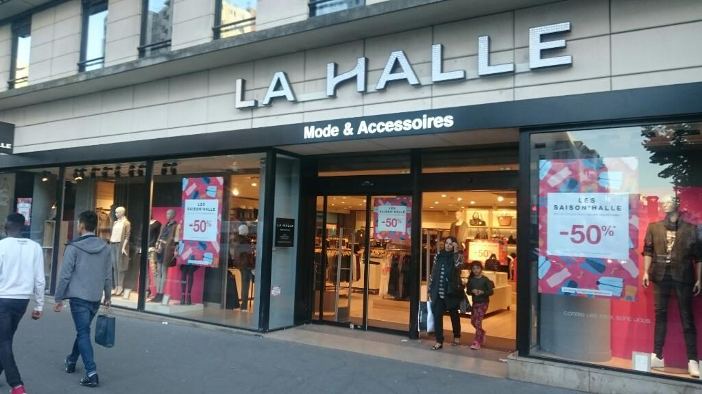 La Halle Chaussures & Maroquinerie Paris Magasin de