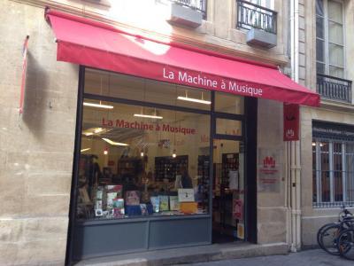 La Machine A Musique - Librairie - Bordeaux