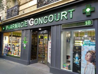 La Pharmacie Goncourt - Pharmacie - Paris