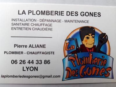 La Plomberie des Gones - Plombier - Lyon
