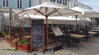 La Poissonnerie Du Port - Restaurant - La Flotte