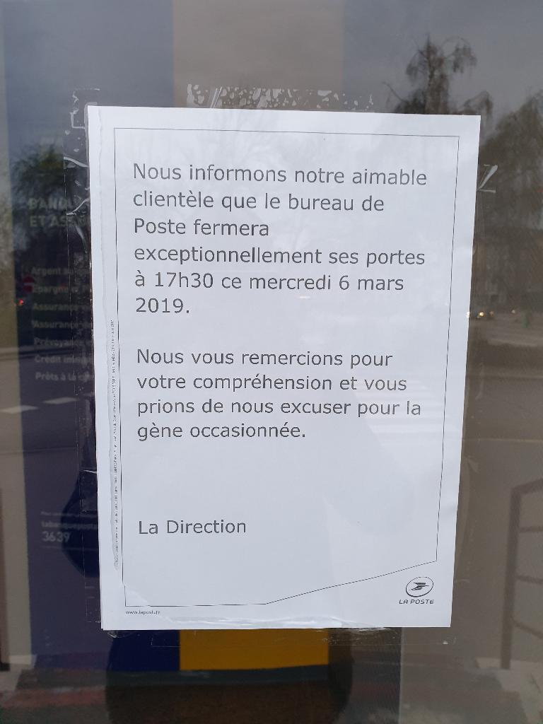 La Poste Strasbourg Livraison De Colis Adresse Avis