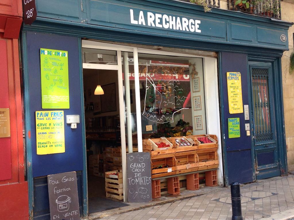 La Recharge Bordeaux - Supérette (adresse, avis)