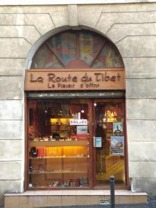 La Route Du Tibet - Librairie - Paris