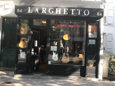 Larghetto Lutherie - Vente et location d'instruments de musique - Vincennes