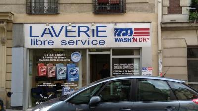 Laverie Libre Service - Laverie - Paris