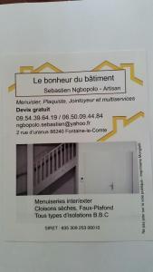Le Bonheur du Bâtiment - Entreprise de menuiserie - Fontaine-le-Comte