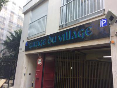 Le Garage MMC - Parking public - Paris