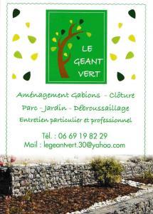 Le géant vert - Paysagiste - Nîmes