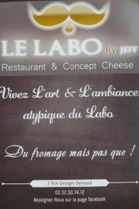 Le Labo By Jeff - Restaurant - Évreux