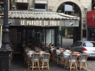 le Paradis du Fruit - Salon de thé - Paris